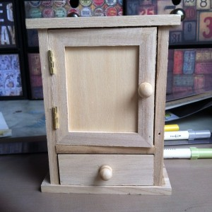 The tiny key cupboard