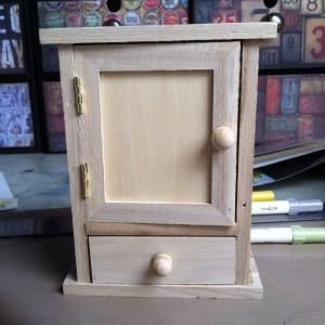The tiny key cupboard